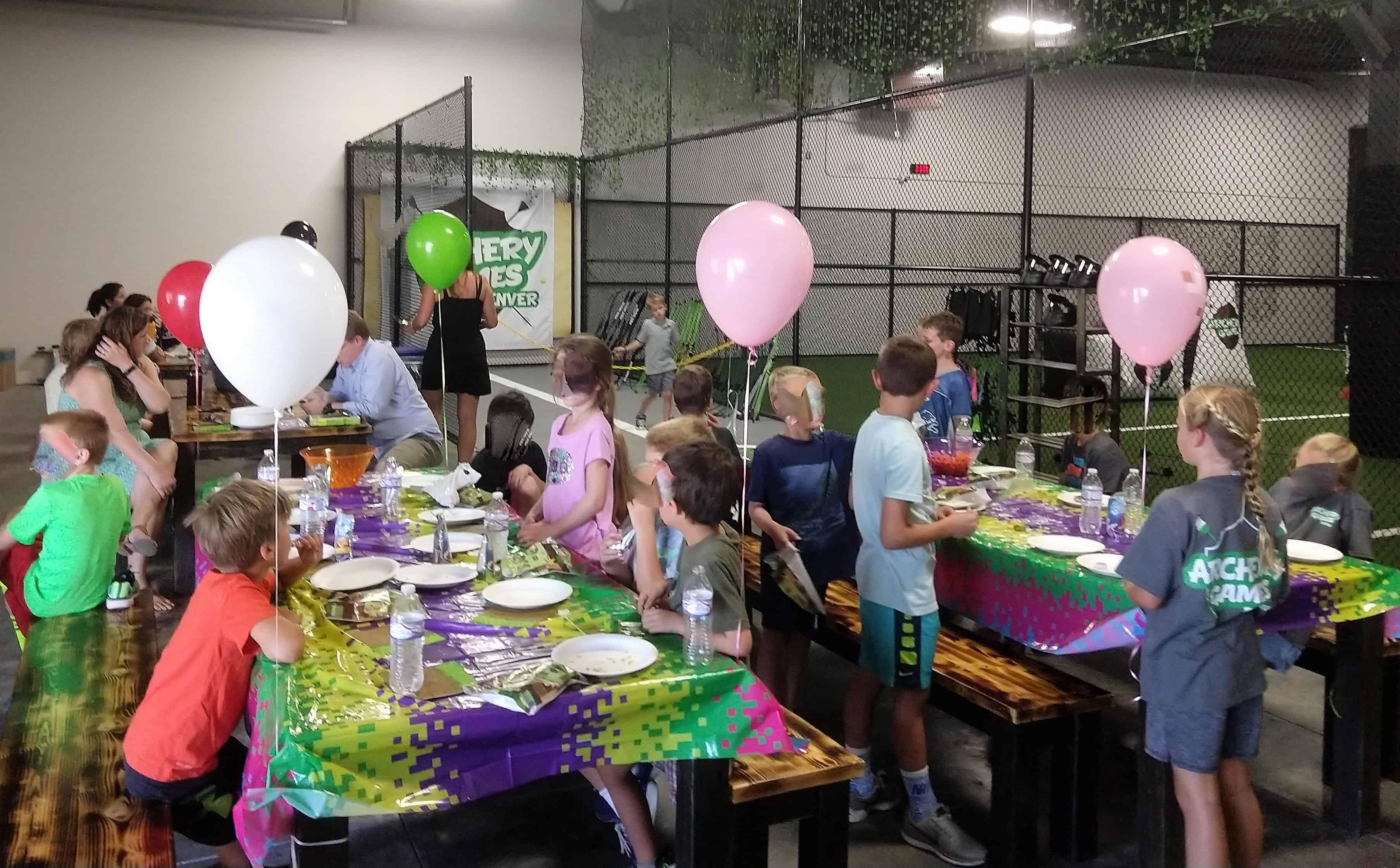 kids birthday party denver