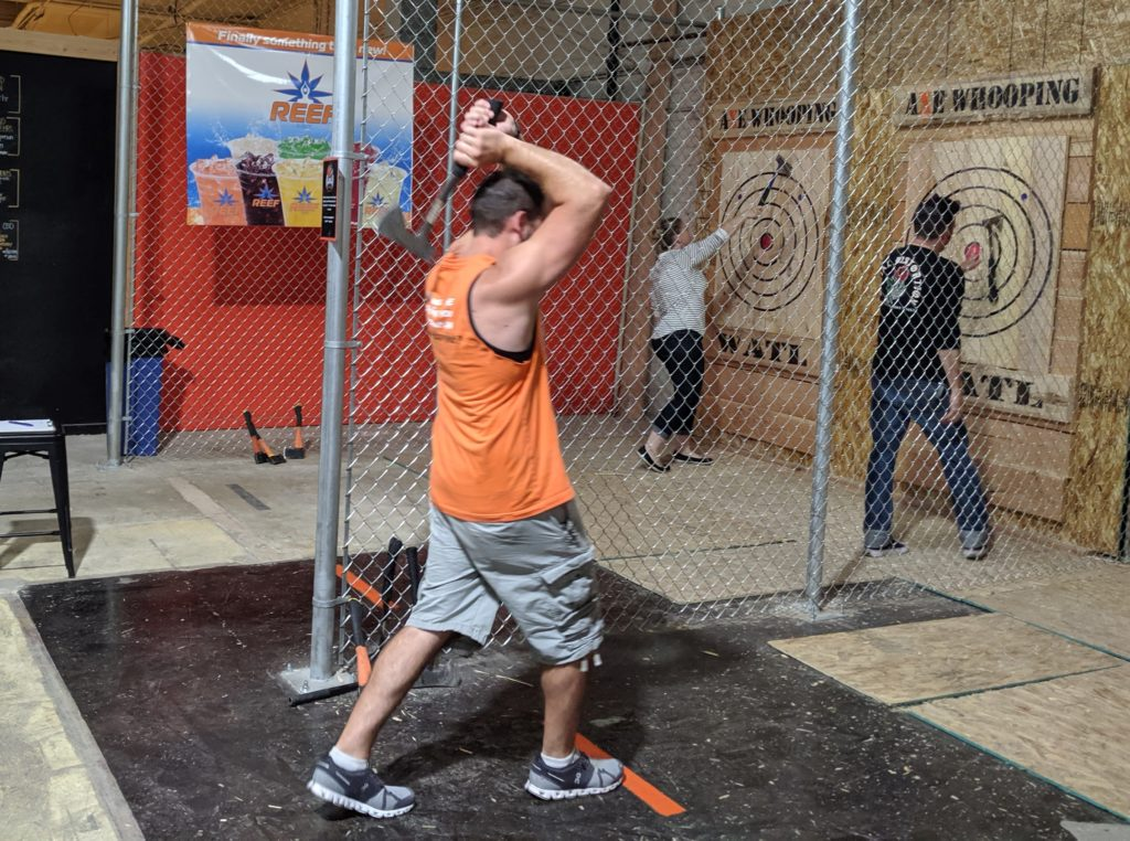 Axe Throwing Axe Whooping Denver